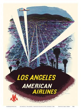 Los Angeles - Hollywood, California - American Airlines