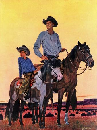 """""""Surveying the Ranch,"""" August 19, 1944"""