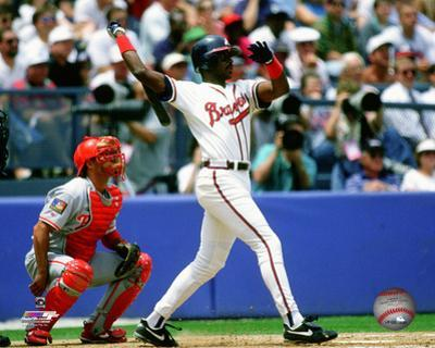 Fred McGriff 1994 Action