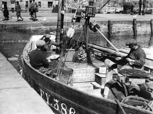 Cornish Fishermen by Fred Musto