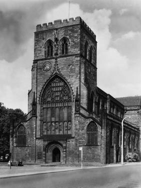 Shrewsbury Abbey by Fred Musto