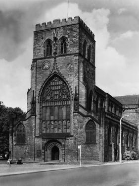 Shrewsbury Abbey by Fred Musto