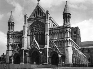 St Alban's Cathedral by Fred Musto
