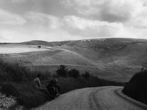 Uffington White Horse by Fred Musto