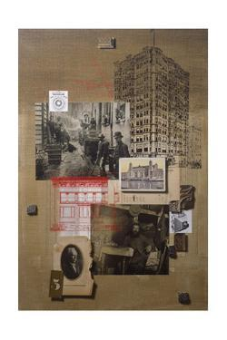 A Collage of Historic Places in the United States by Fred Otnes