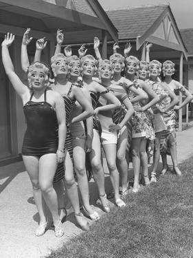 Butlin's Masks by Fred Ramage