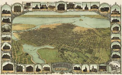 Oakland, California, 1900 by Fred Soderberg