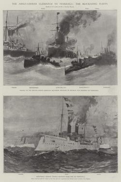 The Anglo-German Ultimatum to Venezuela, the Blockading Fleets by Fred T. Jane
