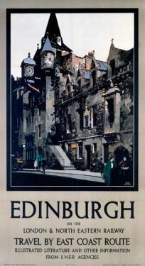 Edinburgh, LNER, c.1923-1947 by Fred Taylor