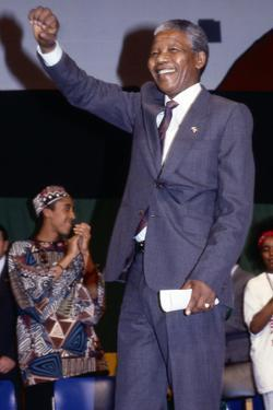 Nelson Mandela, 1990 by Fred Watkins