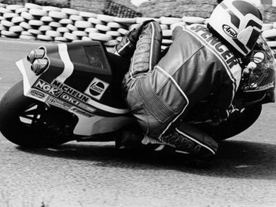 Freddie Spencer on a Honda Ns500, Belgian Grand Prix, Spa, Belgium, 1982
