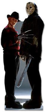 Freddy Krueger & Jason Voorhees - Freddy vs. Jason Movie Lifesize Cardboard Cutout