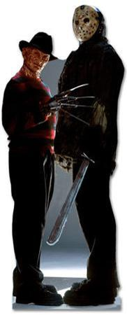 Freddy Krueger & Jason Voorhees - Freddy vs. Jason Movie Lifesize Standup