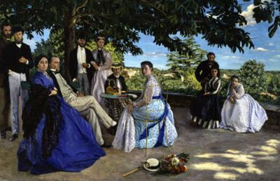 Family Portrait, c.1867 by Frederic Bazille