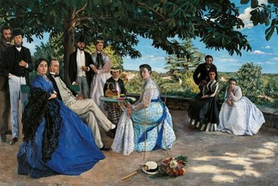 Family Reunion by Frederic Bazille