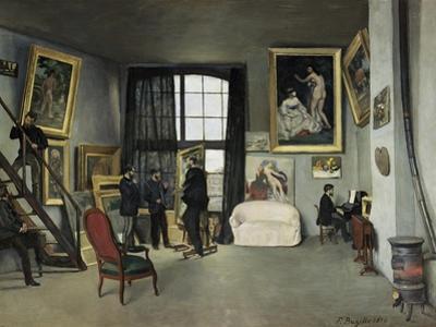 The, 9 Rue de la Condamine Artist's Studio by Frederic Bazille