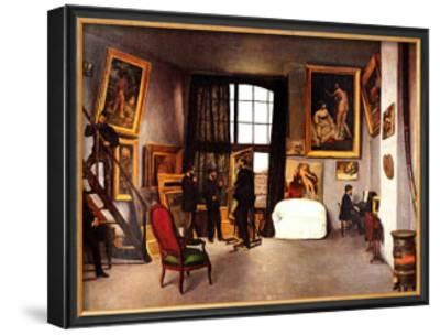 The Artist's Studio, Rue de la Condamine by Frederic Bazille