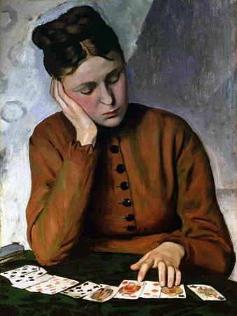 The Fortune Teller, 1869 by Frederic Bazille
