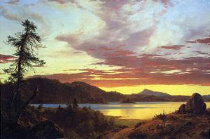 A Sunset by Frederic Edwin Church