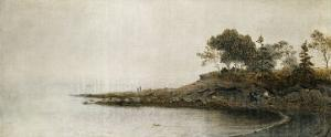 Along the Coast, Circa 1881 by Frederic Edwin Church