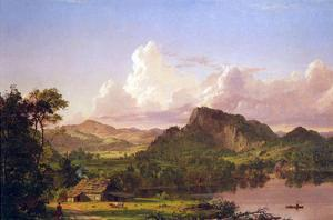 At Home on the Lake by Frederic Edwin Church