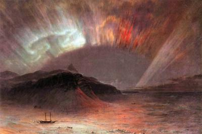 Aurora Borealis by Frederic Edwin Church