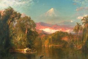 Chimborazo, 1864 by Frederic Edwin Church