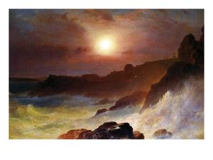 Coast Scene, Mount Desert by Frederic Edwin Church