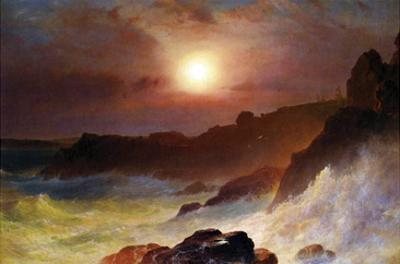 Coast Scene, Mount Desert by Frederic Edwin Church