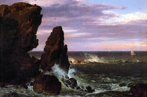 Coastal Scene by Frederic Edwin Church