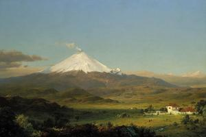 Cotopaxi, 1855 by Frederic Edwin Church