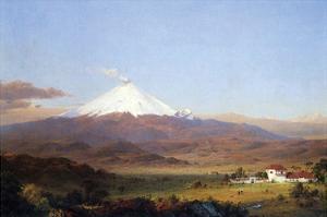 Cotopaxi, Ecuador [2] by Frederic Edwin Church
