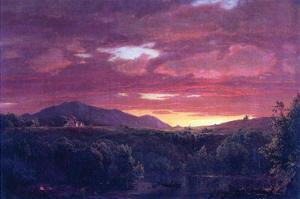 Dusk (Sunset) by Frederic Edwin Church