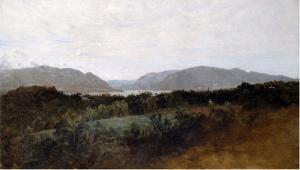 Hudson River by Frederic Edwin Church