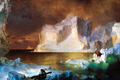 Iceberg by Frederic Edwin Church