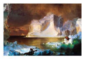 Iceberg by Frederic Edwin Church