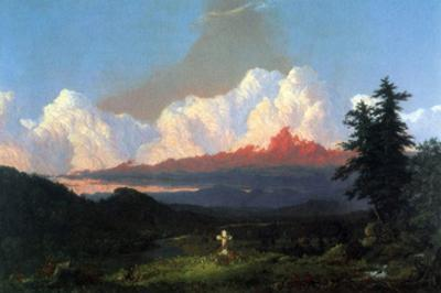 In Memory of Cole by Frederic Edwin Church
