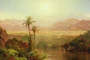 In the Andes, 1878 by Frederic Edwin Church