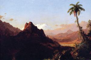 In the Tropics by Frederic Edwin Church