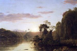 La Magdalena by Frederic Edwin Church