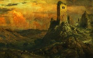 Mediterranean Castle, 1873 by Frederic Edwin Church