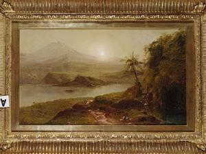 Mountain Landscape by Frederic Edwin Church
