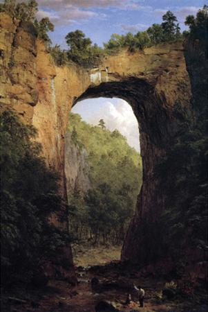 Natural Bridge, Virginia by Frederic Edwin Church