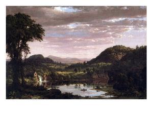 New England Landscape by Frederic Edwin Church