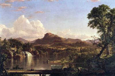 New England Scene by Frederic Edwin Church