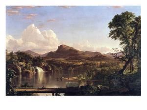 New England Scene by Frederic Edwin Church