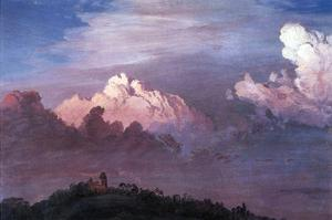 Olana in the Clouds by Frederic Edwin Church