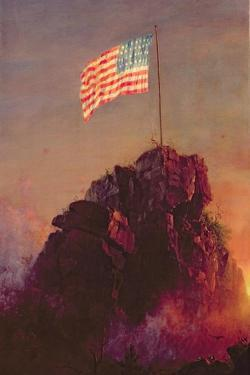 Our Flag, 1864 by Frederic Edwin Church