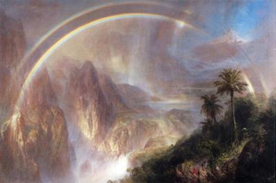 Rainy Season in the Tropics by Frederic Edwin Church