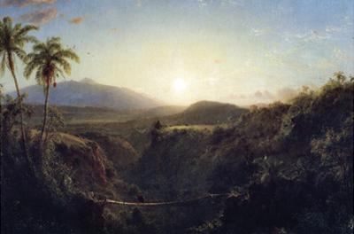 Scene in the Andes by Frederic Edwin Church